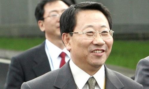 Kim Myong-gil, người dẫn đầu phái đoàn đàm phán hạt nhân Triều Tiên. Ảnh: Reuters.