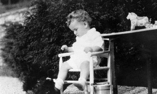 Bé Charles Jr tại New Jersey năm 1932. Ảnh: FBI.