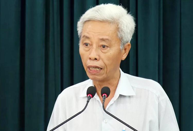 Thiếu tướng Phan Anh Minh tại hội nghị. Ảnh: Quốc Thắng.