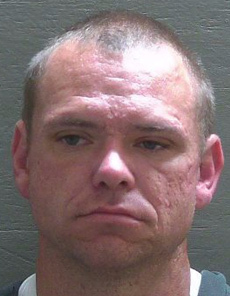 Christopher Strickland. Ảnh: Escambia County Sheriffs Office.