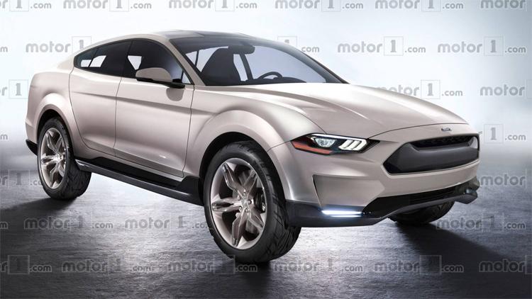 Mẫu SUV chạy điện của Ford theo hình dung của Motor1.