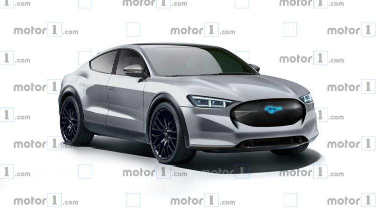 Phiên bản crossover chạy điện của Ford. Ảnh: Motor1