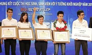 Sinh viên Bách khoa giành giải nhất cuộc thi khởi nghiệp