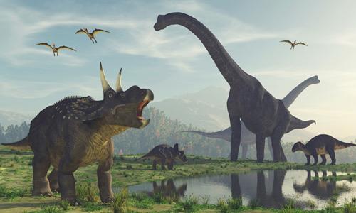 Cácloài khủng long có mùi vị thịt khác nhau. Ảnh: iStock.
