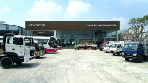Showroom 3S Hyundai Nguyên Gia Phát tại thị xã Thuận An, tỉnh Bình Dương. Hotline: 0906919639. Website: hyundainguyengiaphat.vn.