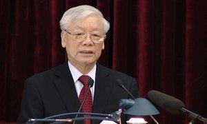 Tổng Bí thư chủ trì Hội nghị Trung ương