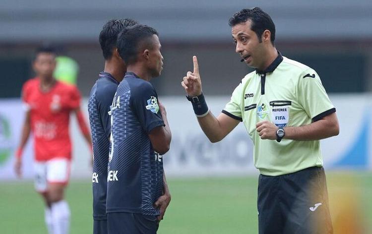 Trọng tàiMoud Bonyadifar sẽ bắt chính trong trận đấu trên sân Mỹ Đình ngày 10/10.