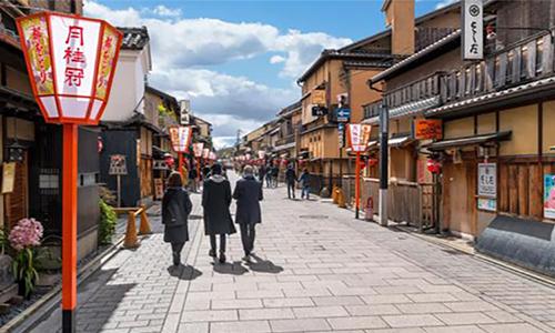 Một con phố ở Nhật Bản. Ảnh: Alamy.