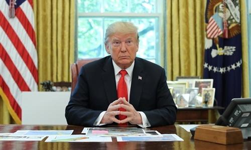 Tổng thống Mỹ Donald Trump tại Nhà Trắng ngày 4/9. Ảnh: Reuters.