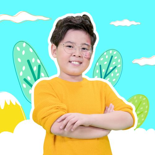 Ca sĩ nhí Lữ Hoàng Bách (9 tuổi, TPHCM) là học viên tại Antoree.com.