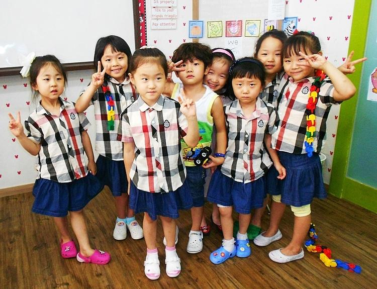 Học sinh Hàn Quốc độ tuổi 5-6. Ảnh: See in Korea