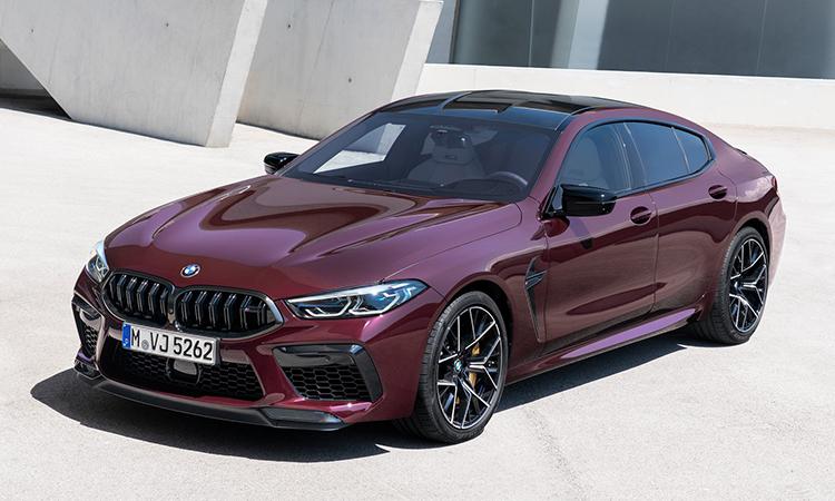 BMW M8 Gran Coupe - xe thể thao giá từ 130.000 USD.