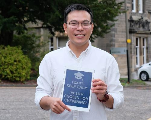 Anh Hồ Quang Chánh - chàng bác sĩ 9x luôn kiên định và nỗ lực với đam mê đã giành được học bổng Chevening năm 2018.