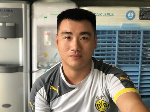 Anh Nguyễn Bảo Long. Ảnh: Minh Cương