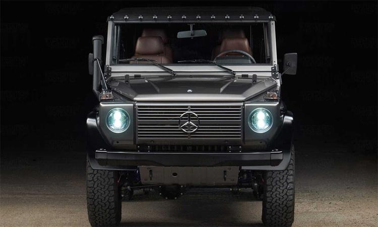 Mercedes G-Wagon phiên bản phục chế. Ảnh: Expedition Motor