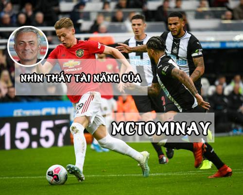 Scott McTominay được chính Mourinho đôn lên đội một và hiện tạiđang là quân bài cực kỳ quan trọng dưới triều đại của Solskjaer.