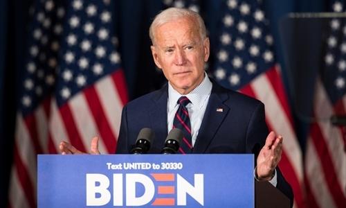 Joe Biden tại New Hampshire ngày 9/10. Ảnh: AFP.
