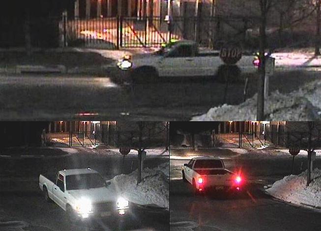 Chiếc bán tải Mazda đời 1993 xuất hiện gần hiện trường ở thành phố Golden. Ảnh: Golden Police Department.