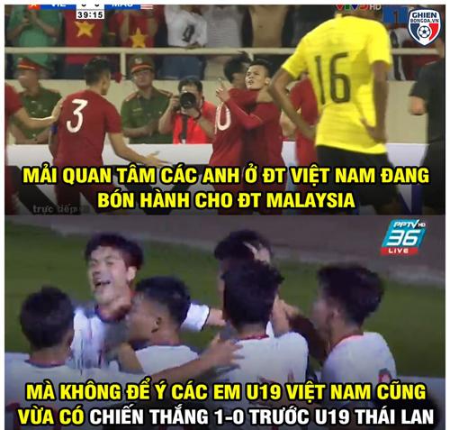 U19 Việt Nam cũng vừa ăn lẩu Thái siêu cay.