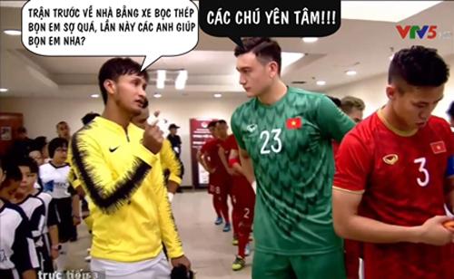 Cầu thủ Malaysia đúng là cầu được ước thấy.