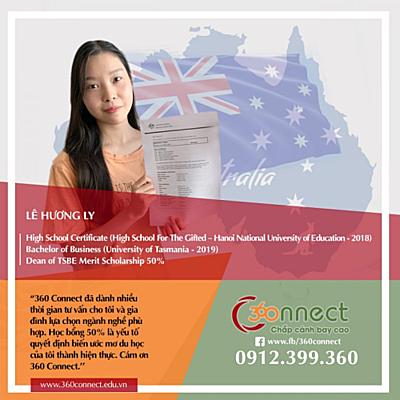 Học bổng tới 100% Đại học Tasmania, Australia - 2