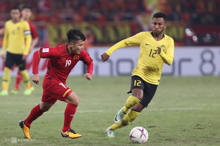 Việt Nam bất bại trong ba lần gần nhất đối đầu Malaysia. Ảnh: Đức Đồng
