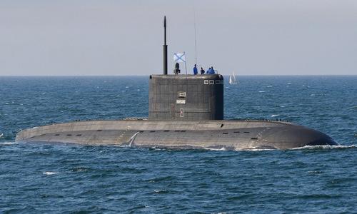 Tàu ngầm lớp Kilo của Nga. Ảnh: TASS.