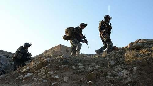 Lực lượng quân đội Mỹ tại Afghanistan. Ảnh: The Hill.