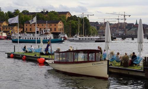 Bến thuyền tại khu Ostermalm, Stockholm, Thụy Điển. Ảnh: BBC.