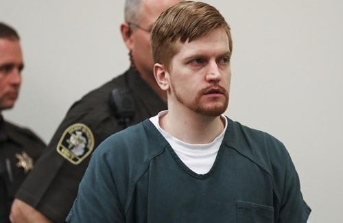 Jared Chance trình diện tòa án quận Kent, bang Michigan, Mỹ, hôm 10/10. Ảnh: AP.
