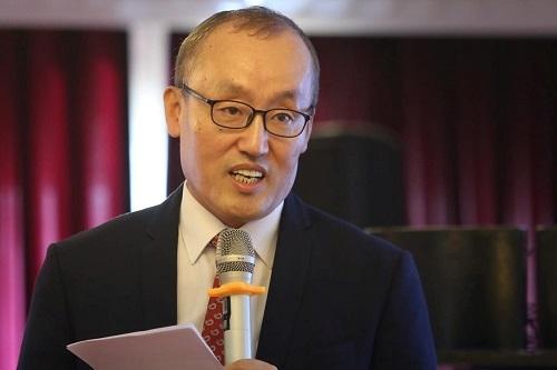 Ông Kidong Park, Giám đốc đại diện WHO ở Việt Nam. Ảnh: Gia Chính