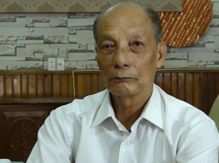 Ông Nguyễn Mạnh Thuỳ. Ảnh: VT.