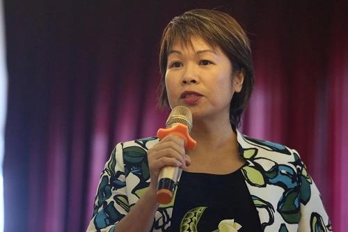 Bà Nguyễn Thị Lê Thu, đại diện WB. Ảnh: Gia Chính