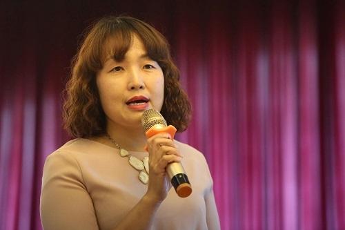Bà Lưu Thị Thanh Chi, Phó Chi Cục trưởng Chi cục Bảo vệ môi trường Hà Nội. Ảnh: Gia Chính