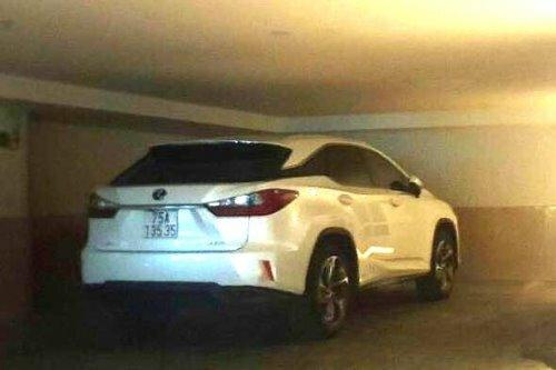 Chiếc xe Lexus mang biển số đẹp. Ảnh: T.H