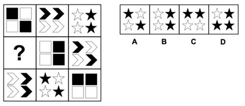 Thử thách với 10 câu đố IQ hình học - 9