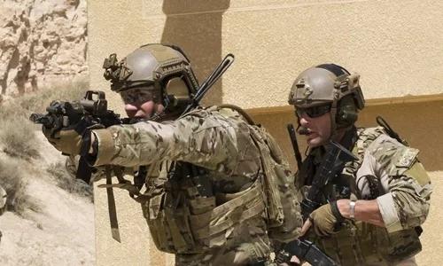 Các binh sĩ Mỹ tham gia cuộc tập trận Eager Lion ở Jordan, láng giềng của Arab Saudi, năm 2018. Ảnh: U.S. Department of Defense.