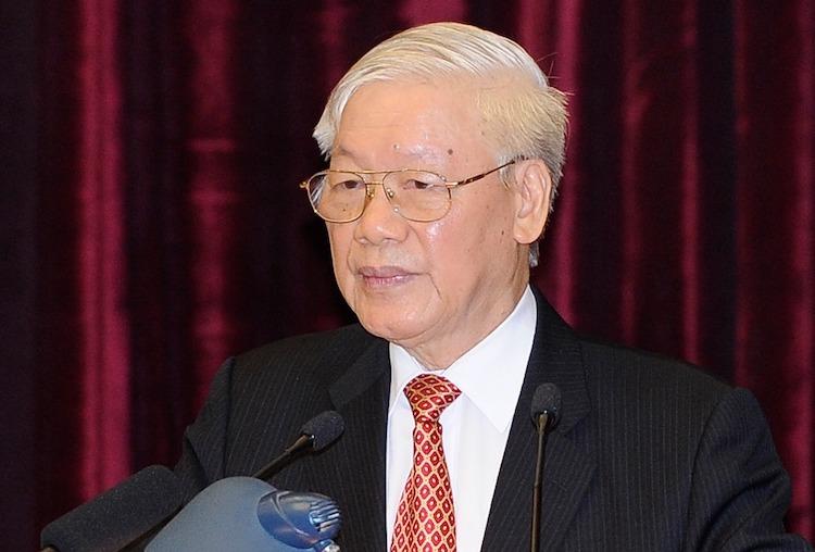 Tổng bí thư, Chủ tịch nước Nguyễn Phú Trọng. Ảnh: Đăng Khoa