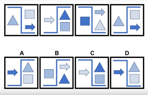 Thử thách với 10 câu đố IQ hình học - 7