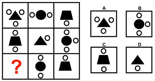 Thử thách với 10 câu đố IQ hình học - 8
