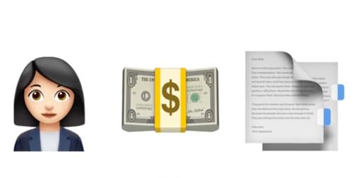 Một cô gái, tiền và giấy tờ thì liên quan đến nghề gì nhỉ?