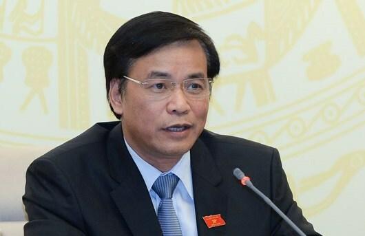 Tổng thư ký Quốc hội Nguyễn Hạnh Phúc. Ảnh: Hoàng Thuỳ
