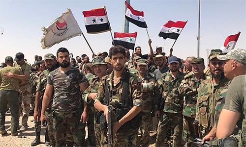 Binh sĩ quân đội chính phủ Syria (SAA). Ảnh: Sputnik.