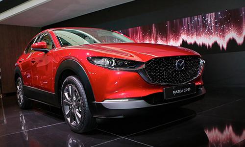 Mazda CX-30 - crossover mới ra mắt tại Triển lãm Geneva 2019.