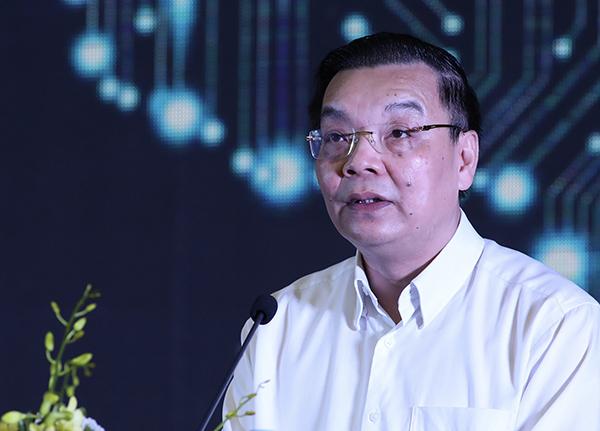 Bộ trưởng Chu Ngọc Anh phát biểu khai mạc phiên trọng thể.