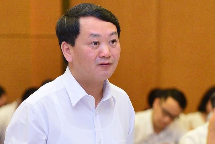 Phó chủ tịch Mặt trận Tổ quốc Việt Nam Hầu A Lềnh. Ảnh: Hoàng Hải