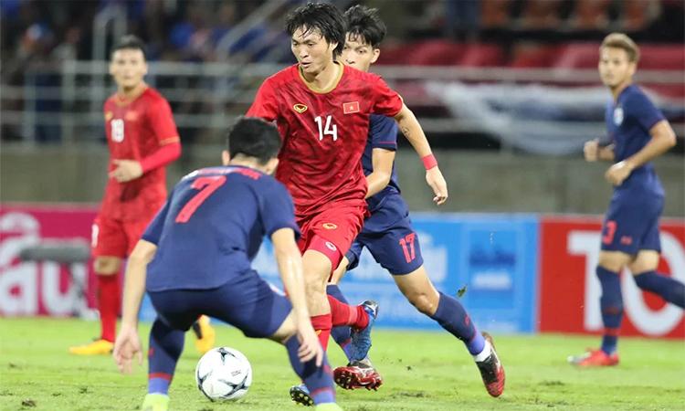 Tuấn Anh chơi tốt trong 90 phút trận gặp Thái Lan và hiệp 1 trận đấu với Malaysia. Ảnh: Đức Đồng.