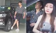 Hành động kỳ lạ của chàng trai khi mua ôtô chở bạn gái