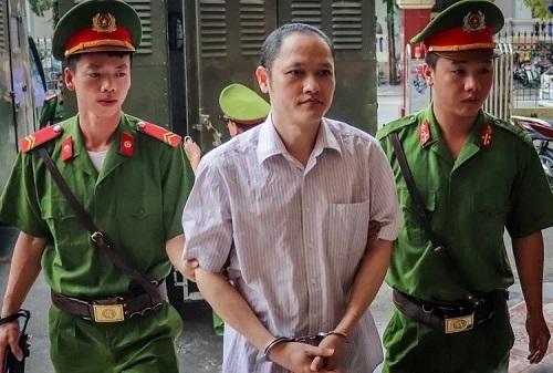 Bị cáo Nguyễn Thanh Hoài. Ảnh: H.N.