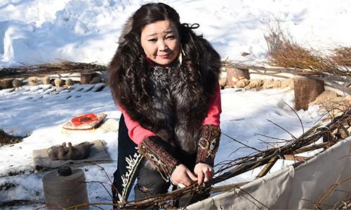 Nữ pháp sưBibigul Mamaeva người Kazakhstan. Ảnh: RT.